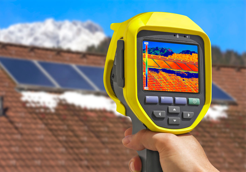 Une inspection thermographique (par rayonnement infrarouge) de votre maison permet une inspection beaucoup plus exhaustive – Inspection Immo-check – Inspecteur en bâtiment – Gatineau Outaouais